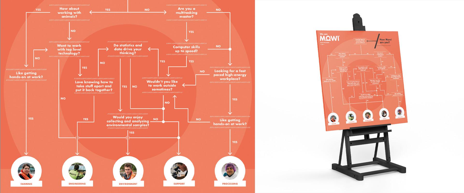 Mowi Career Pathfinder Designed by Denvir
